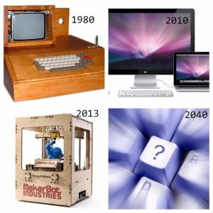 collage toekomst 3D printen