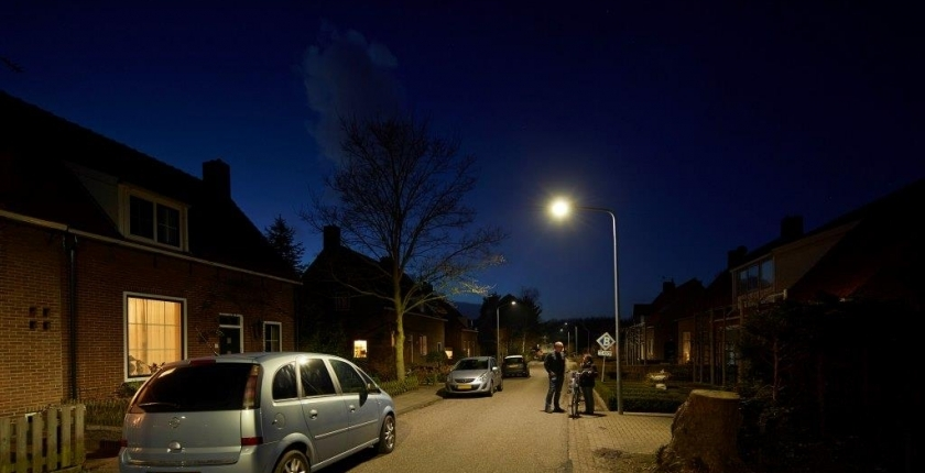 50% energy-saving in public lightning Goeree-Overflakkee