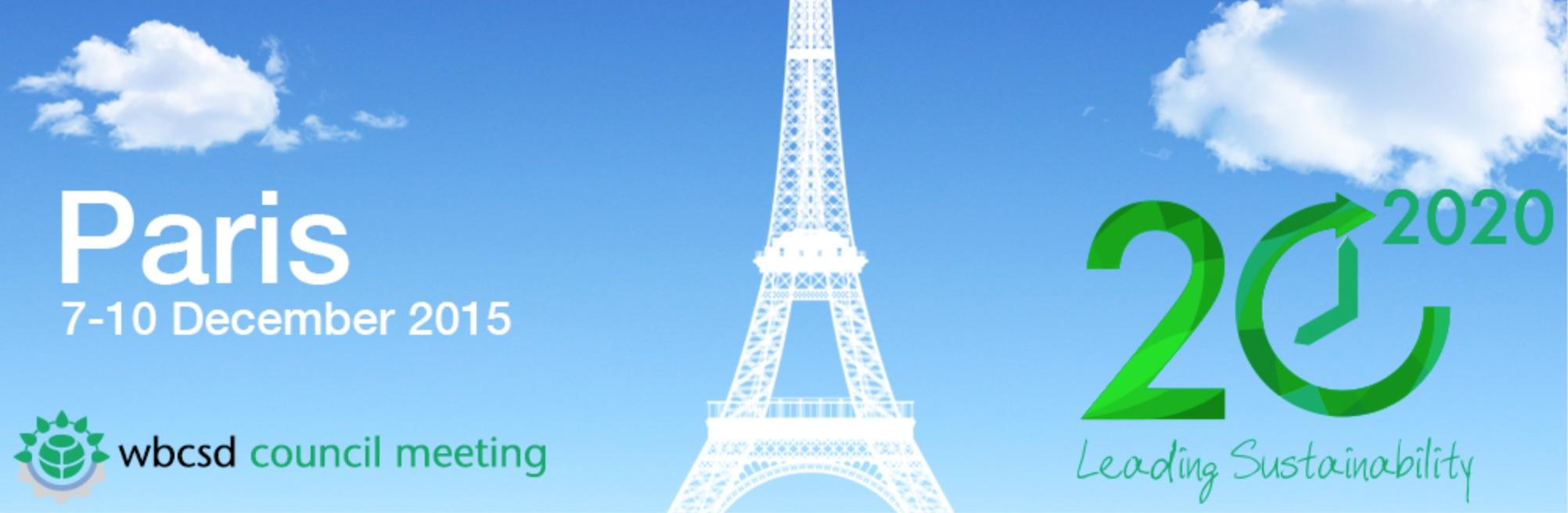 1504 WBCSD Paris 2020 counsil meeting