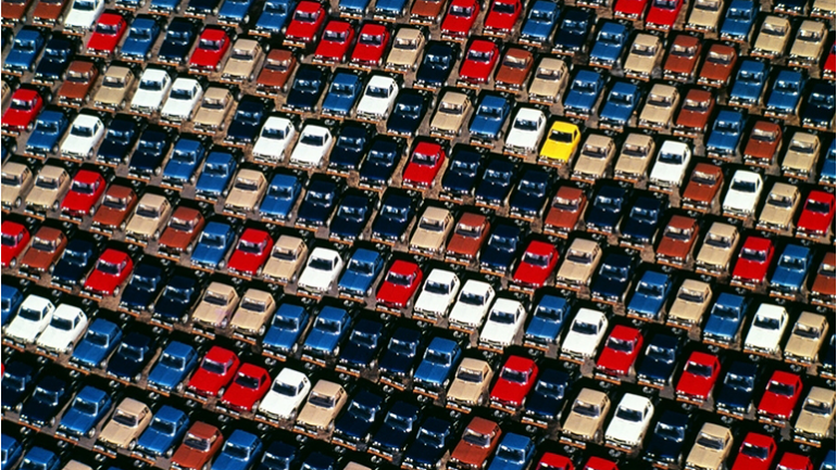 Using Big Data to find a parking spot