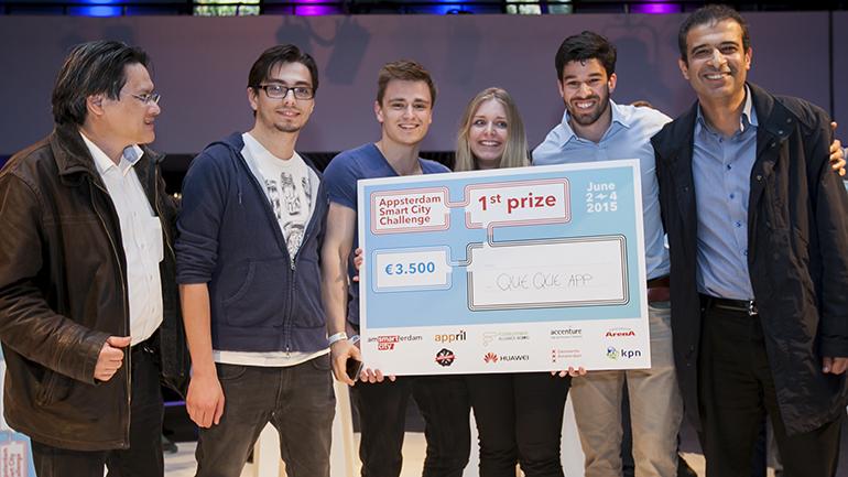 Appsterdam Smart City Challenge 2015