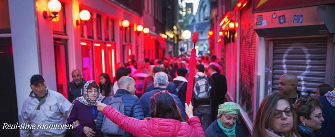 Real-time monitoring // Amsterdam gaatmet big data de toeristendrukte te lijf